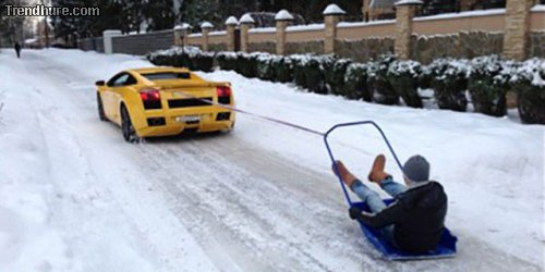 Russland im Winter