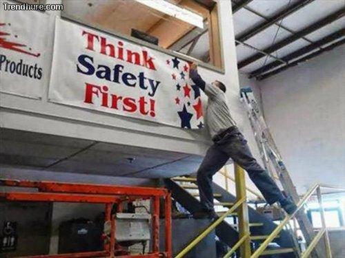 Sicherheit geht vor