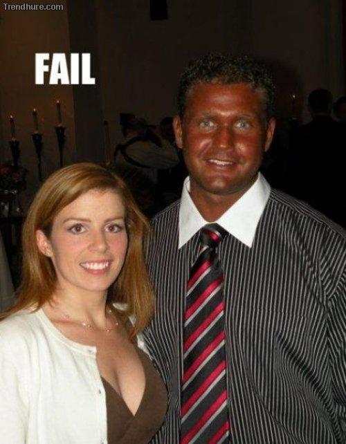 Bräunungs-Fails