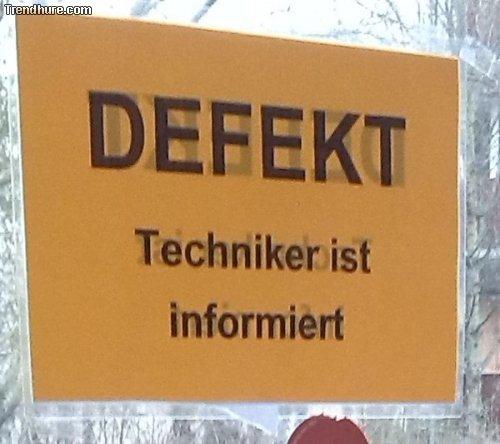 Techniker ist informiert