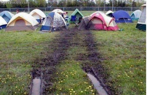 Camping macht Spaß