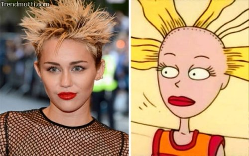 Cartoons Real Life
