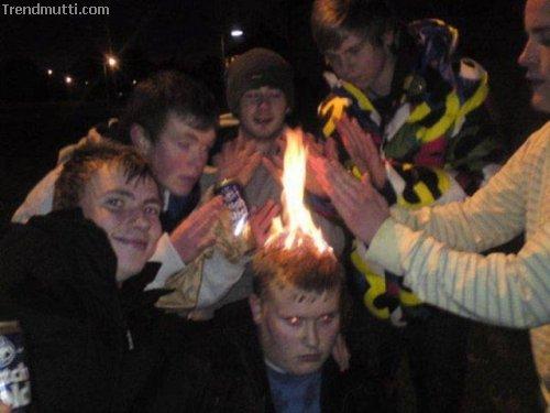 Mit Feuer spielt man nicht