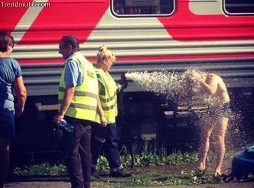 Züge in Russland
