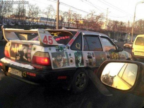 Straßenverkehr in Russland