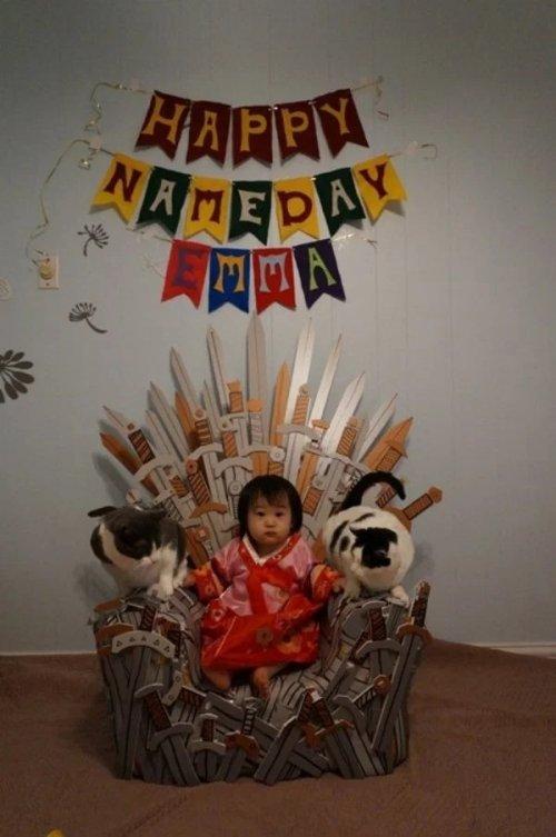 Trone von Game of Thrones-Fans